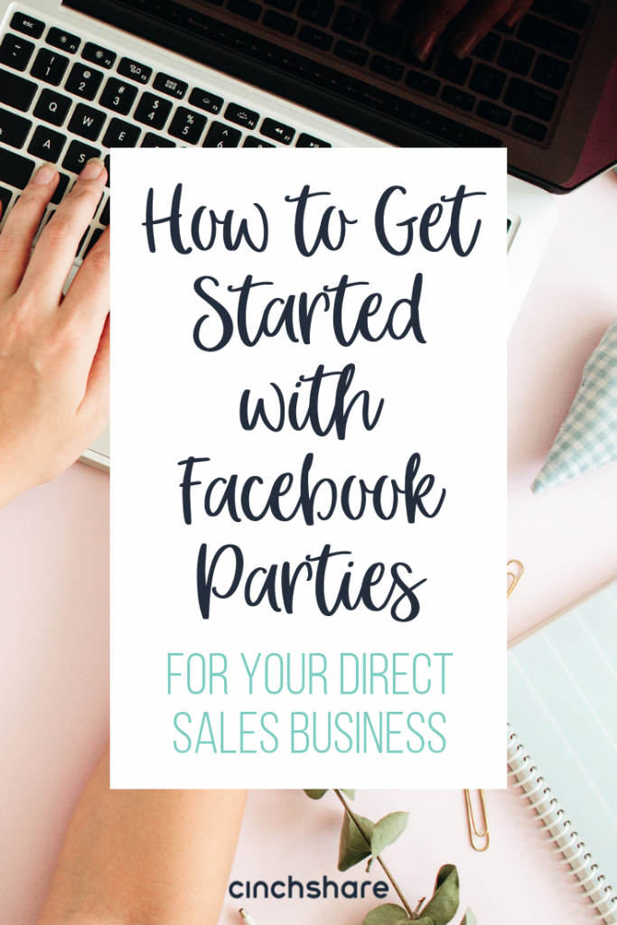 how to get started with facebook parties