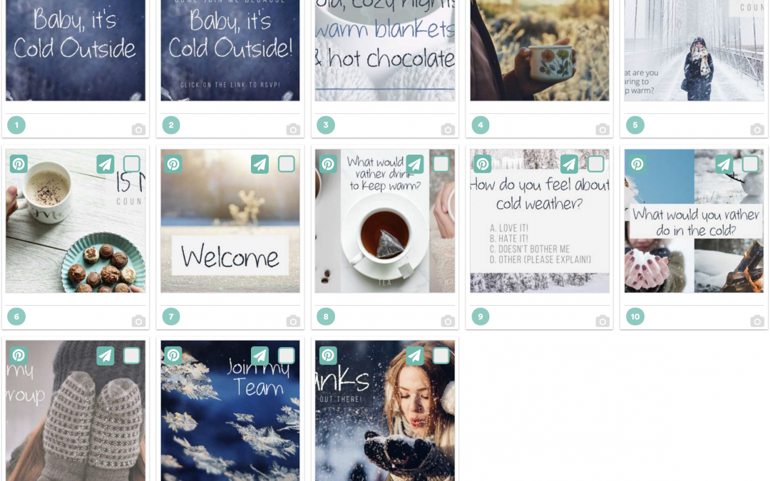 Baby It's Cold Outside – Free Facebook Theme Party Bundle