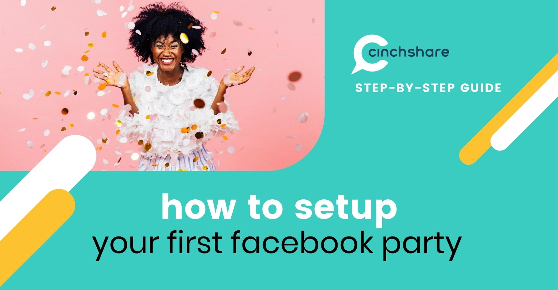 how to setup facebook party in cinchshare